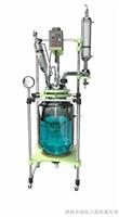 GR-50L高硼硅玻璃大型双层反应釜