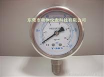 全不锈钢充油表压力表,抗震压力表