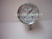 75MM径向燃气微压表压力表