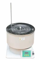 HWCL-5带有不锈钢水浴锅集热式恒温磁力搅拌浴