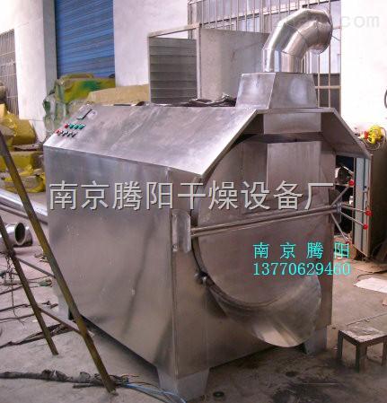 安徽亳州中草药电热滚筒炒药机