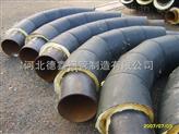 地埋式三布六油加强级环氧煤沥青玻璃丝布防腐弯头管件