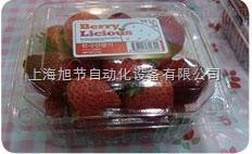 蔬菜水果包装盒贴标机
