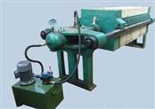 800型电动液压厢式压滤机