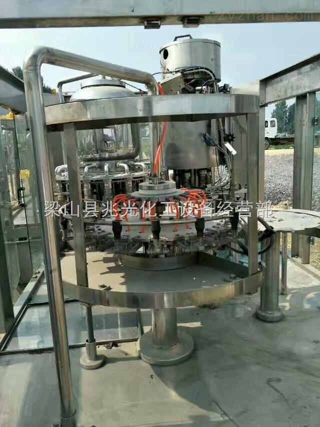 全套设备 二手5吨三效降膜不锈钢蒸发器304L转让两套