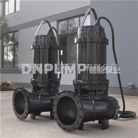 市政工程用切割式排污泵 WQ潜水泵系列
