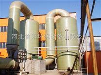 甘肅4噸燃煤蒸汽鍋爐除塵器石灰石鍋爐脫硫塔替代麻石脫硫