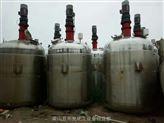 专业供货二手不锈钢蒸汽加热反应釜