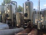二手2吨双效不锈钢浓缩外循环蒸发器质量硬