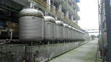 3000升-銷售二手3立方不銹鋼外盤管加熱反應釜304L