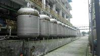 二手5吨不锈钢外盘管加热反应釜304L转让