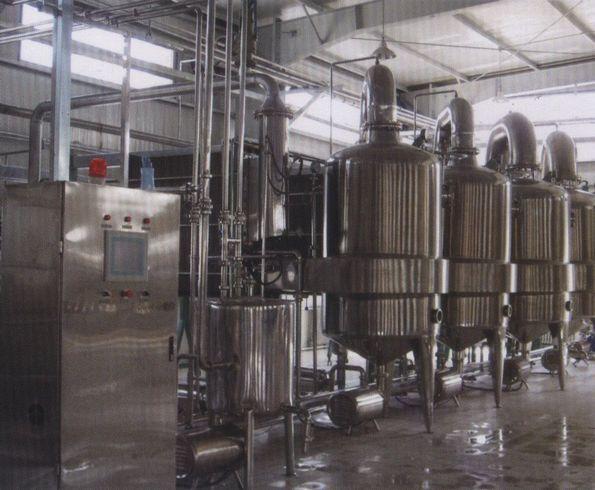 163平方大型蒸发器制造成功